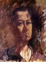 Self Portrait, Theo Meier, circa 1956